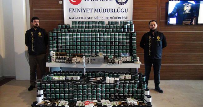 İstanbul'da zayıflama ilacı operasyonu