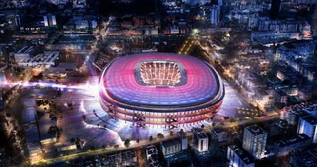 Barcelona yeni Nou Camp'ı açıkladı
