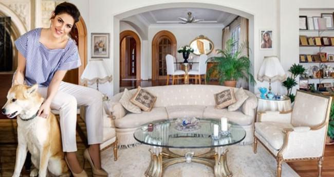 İşte Türkan Şoray'ın 15 milyon TL'lik evi!