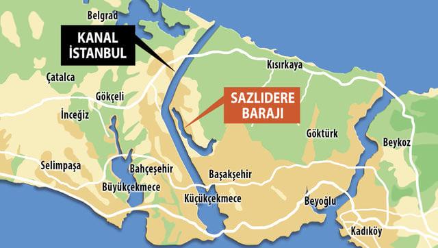 İstanbul'a ikinci 'haliç' geliyor