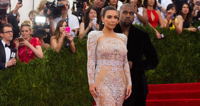 Kim Kardashian çocuğuna öyle bir isim verdi ki