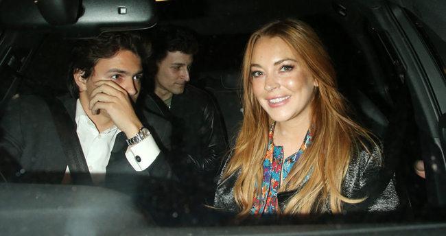 Lindsay Lohan mutluluğu onda buldu