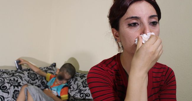 Minik Emir'in gözü, annesinin ise yüreği kan ağlıyor