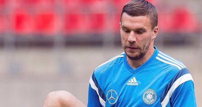 Lukas Podolski Türkiye'de