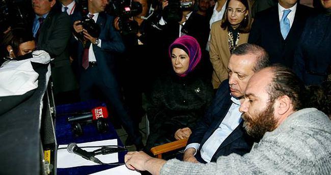Recep Tayyip Erdoğan yönetmen koltuğuna oturdu