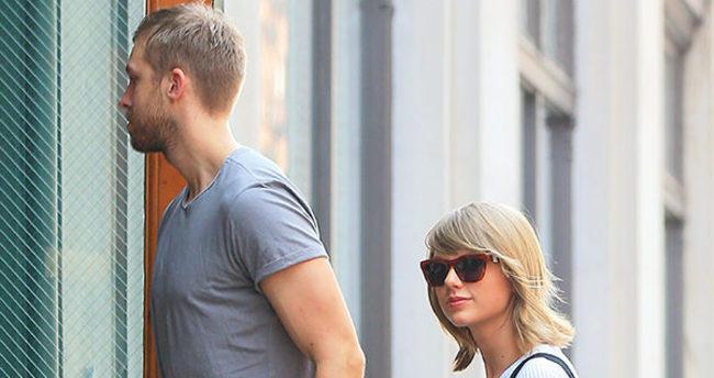 Taylor Swift ile Calvin Harris birbirine girdi