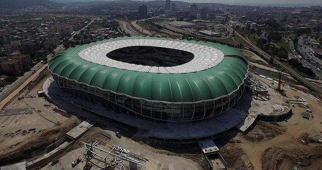 Timsah Arena havadan böyle görüntülendi