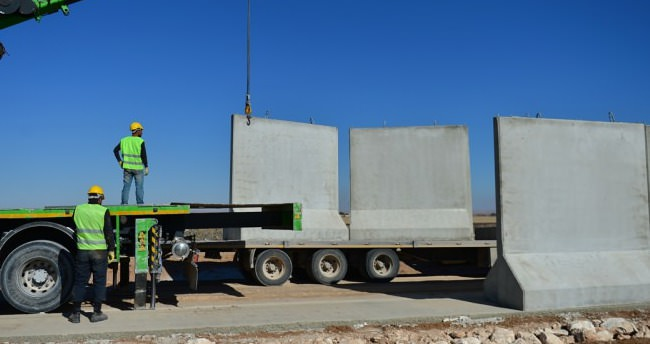 Türke Seddinin inşaası sürüyor