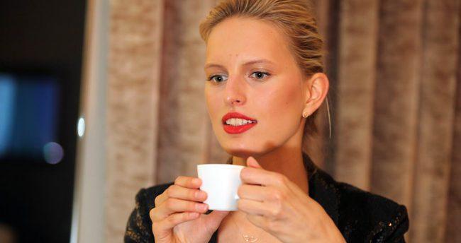 Victoria's Secret meleği Karolina Kurkova tam bir Türkiye aşığı çıktı!