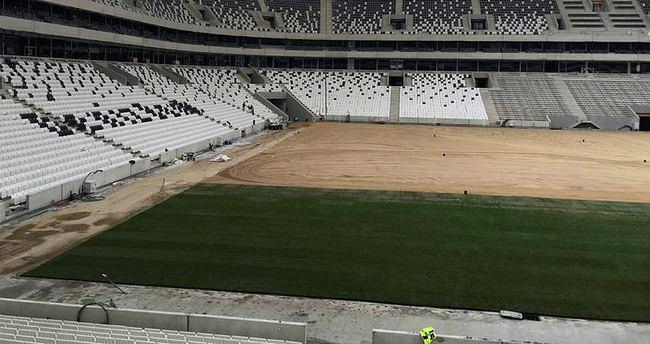 Vodafone Arena'daki ilk maç...