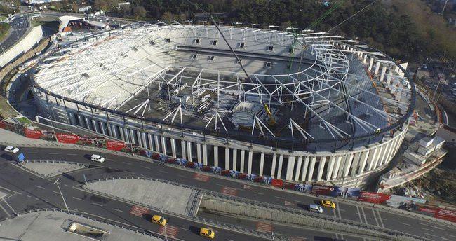Vodafone Arena'nın açılışı için ihtimaller