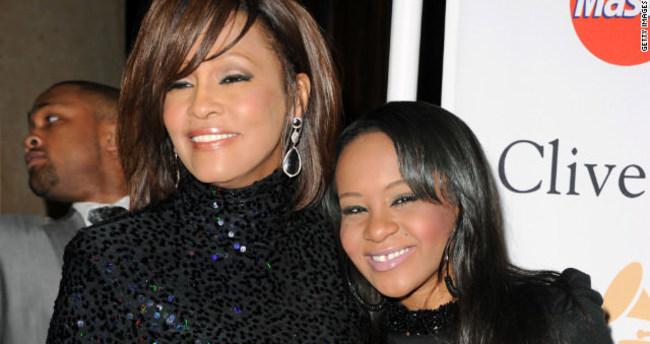 Whitney Houston'un komadaki genç kızı ölmek üzere