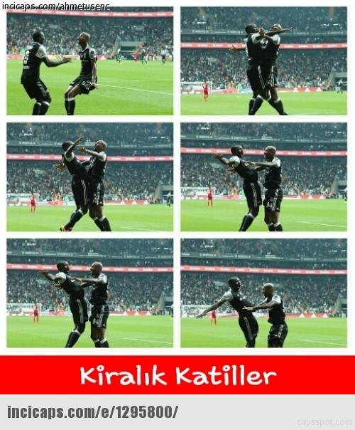 Beşiktaş - Antalyaspor maçı capsleri