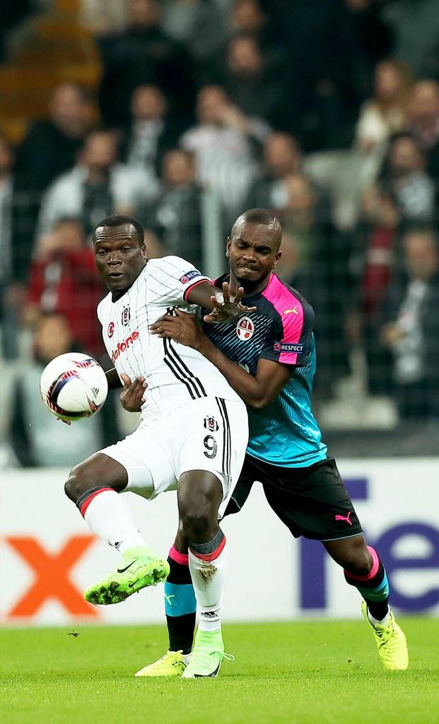 Beşiktaş-Hapoel Beer Sheva maçından kareler