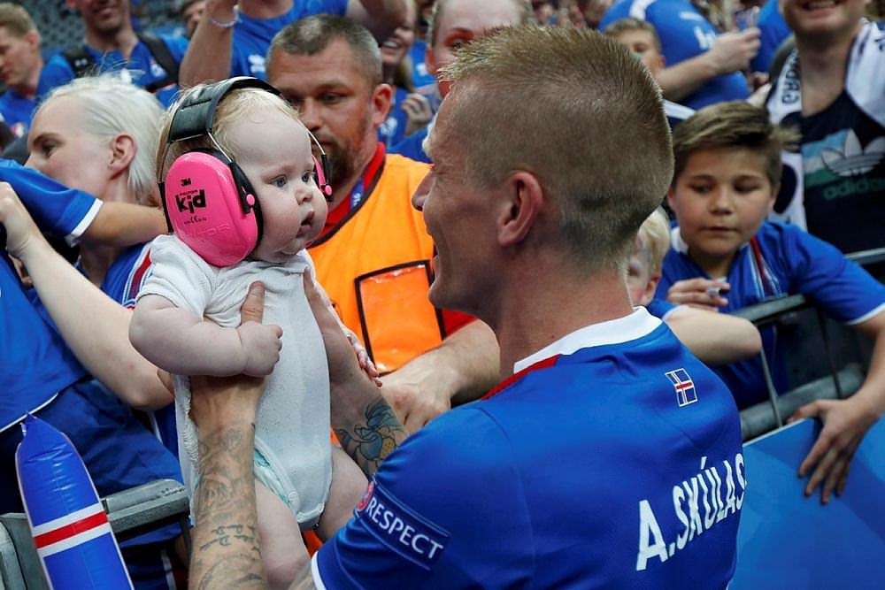 EURO 2016'nın parlayan takımı İzlanda'yı böyle hatırlayacağız