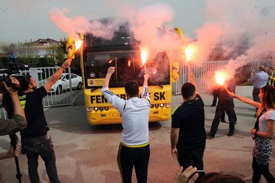 Fenerbahçe böyle uğurlandı
