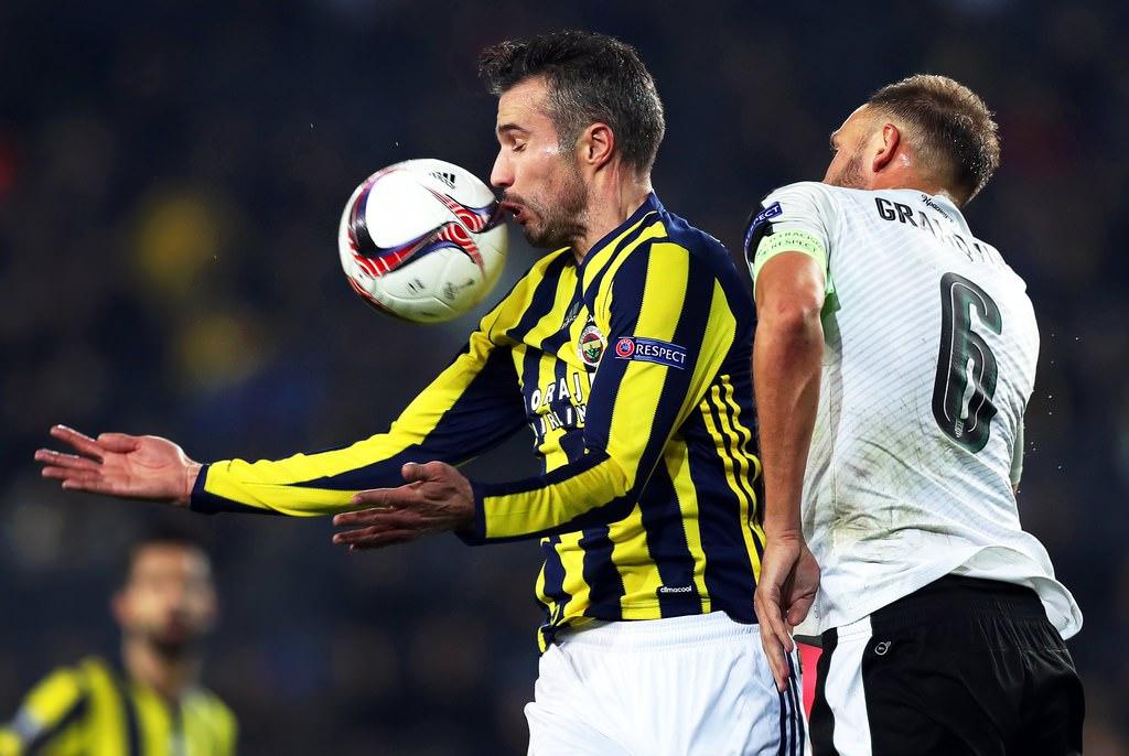 Fenerbahçe-Krasnodar maçından kareler