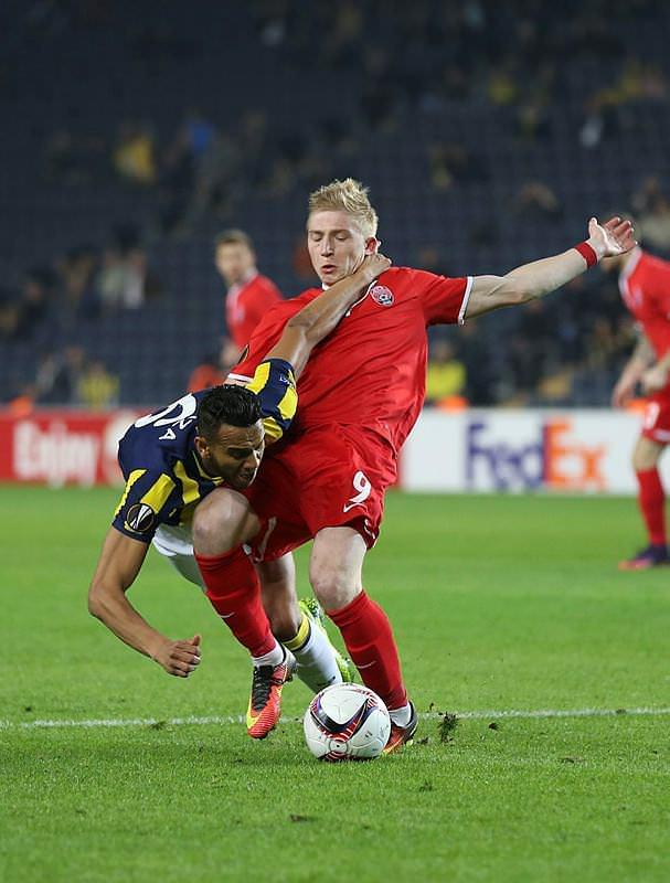 Fenerbahçe-Zorya maçından kareler