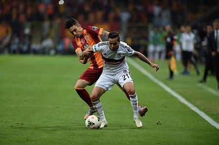 Galatasaray - Beşiktaş maçı Twitter'ı salladı