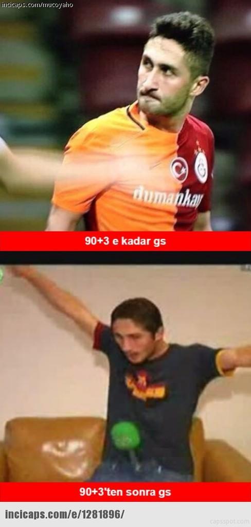 Galatasaray-Karabükspor capsleri