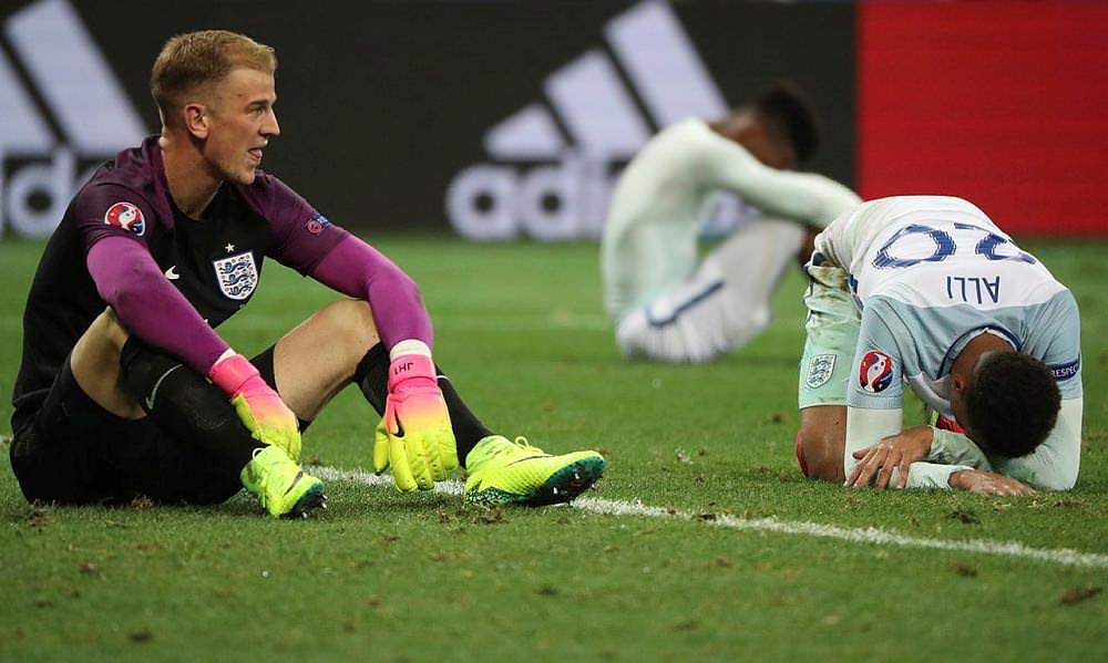 "İngiltere, İzlanda'ya elendi! ""2. Brexit"""