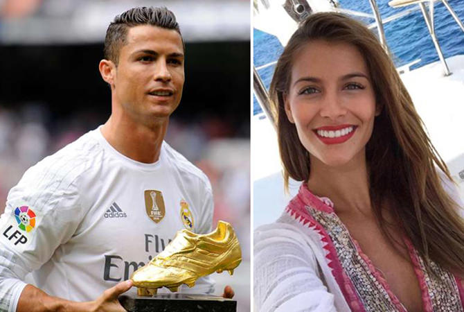 İşte Cristiano Ronaldo'nun yeni sevgilisi