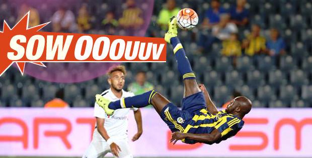 Moussa Sow'un golleri sosyal medyayı salladı