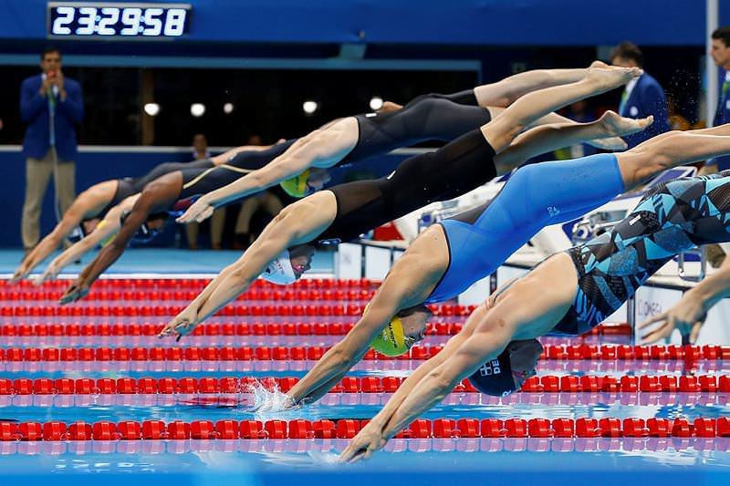 Olimpiyatta tarihi olay!