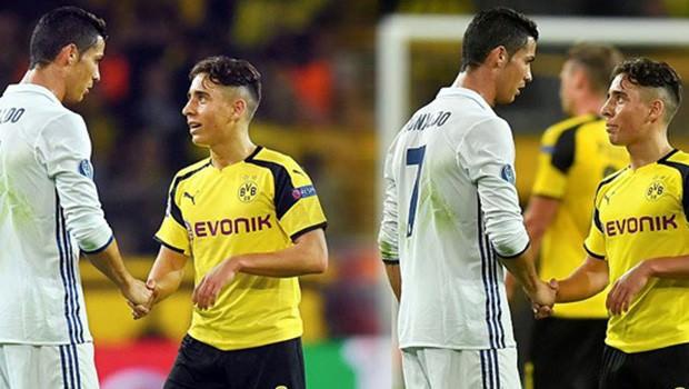 Ronaldo ve Emre Mor 'kanka' oldu!