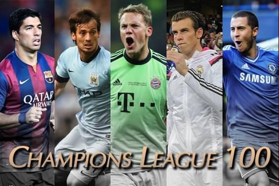 Şampiyonlar Ligi'nin en iyi 100 futbolcusu!