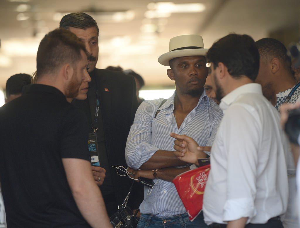 Ünlü futbolcular Antalya'ya geldi