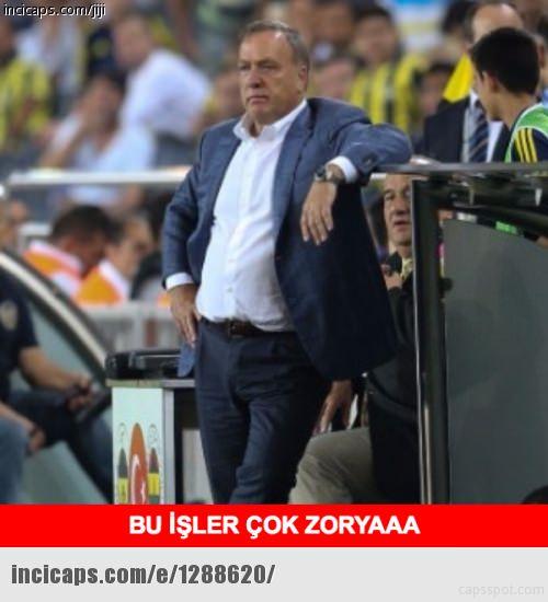 Zorya - Fenerbahçe maçı capsleri