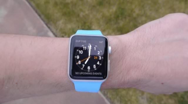 Apple Watch böyle kırıldı