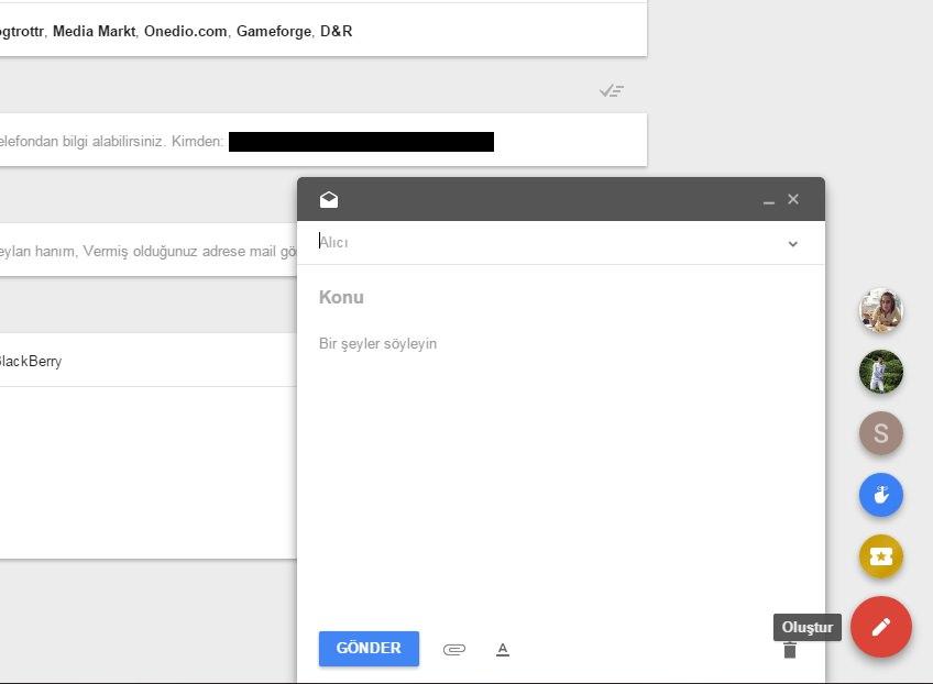 Geliştirilmiş yeni nesil eposta: Inbox