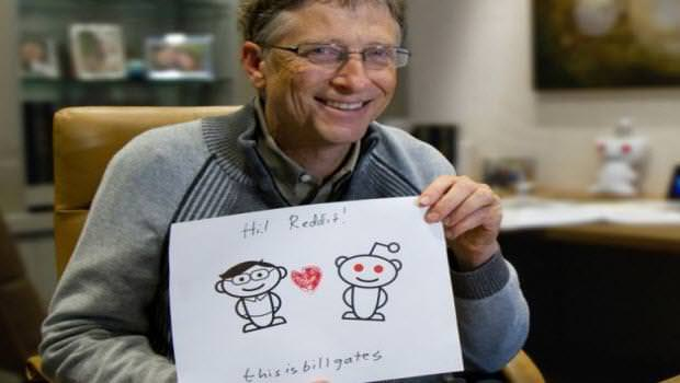 Kullanıcılar sordu Gates yanıtladı