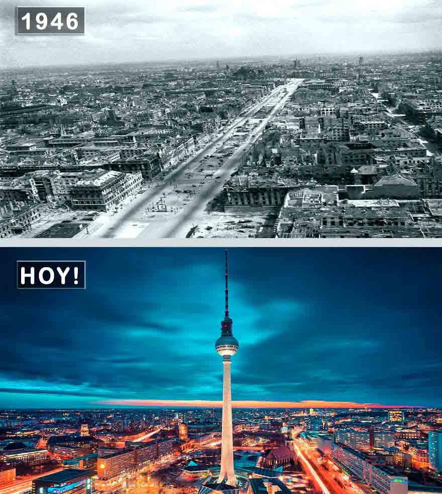 En çok ziyaret edilen şehirlerin öncesi ve sonrası