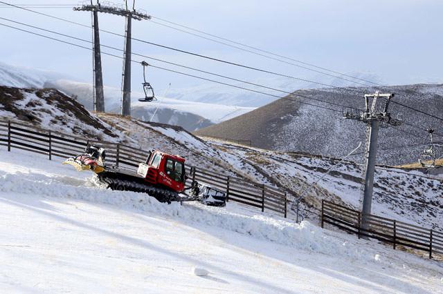 Palandöken'de kayakçıları sürprizler bekliyor