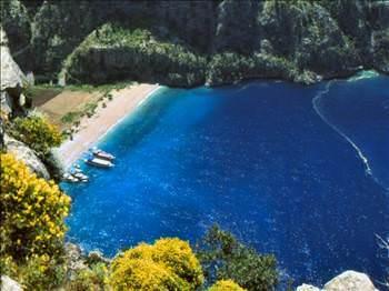 Türkiye nin en iyi plajları arasında marmaris te var