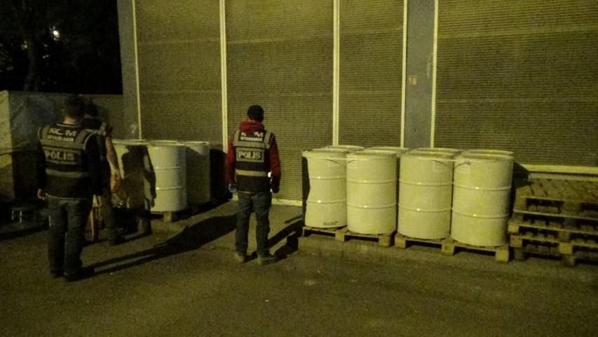 7 ton kaçak tütün yakalandı