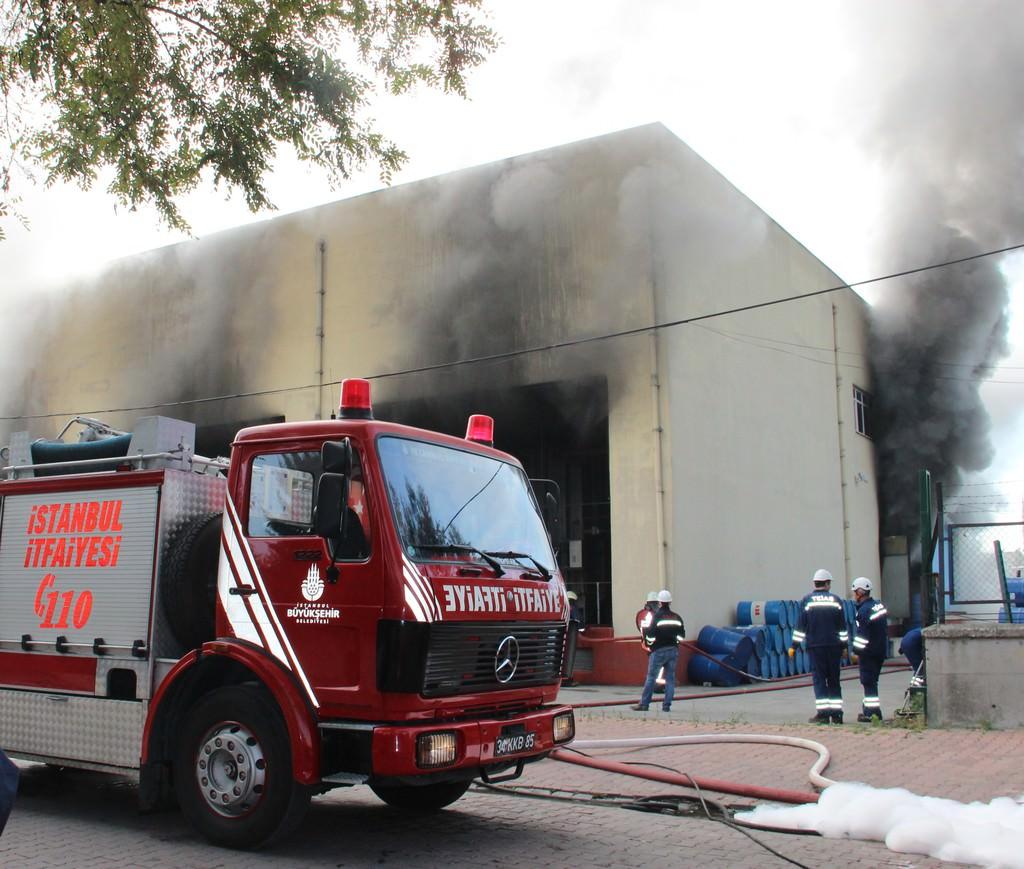 Bahçelievler'de trafo merkezinde yangın