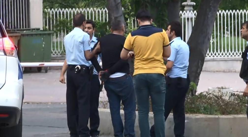 Beşiktaş'ta hırsızlar polisle çatıştı