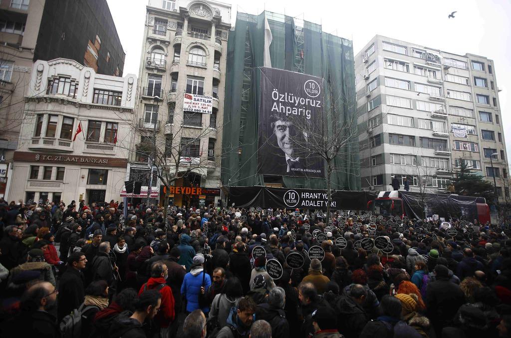 Hrant Dink öldürülmesinin 10. yılında anıldı