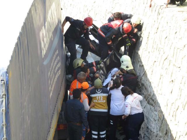 İstanbul'da TIR dehşeti: 1 ölü!