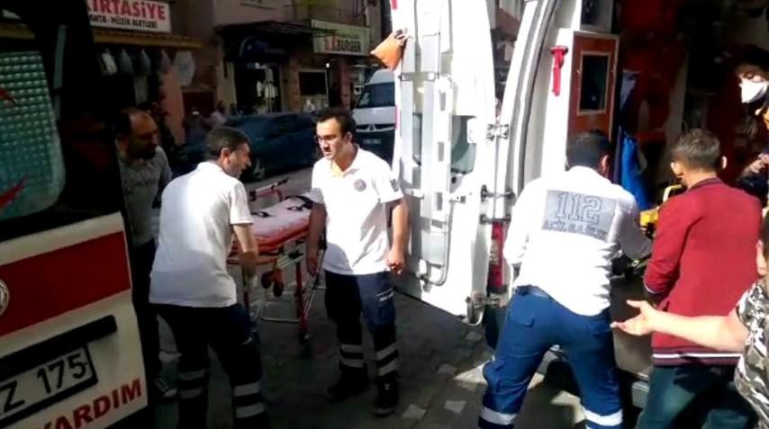 İzmir'de altı işçi kimyasal kazanın içine düştü