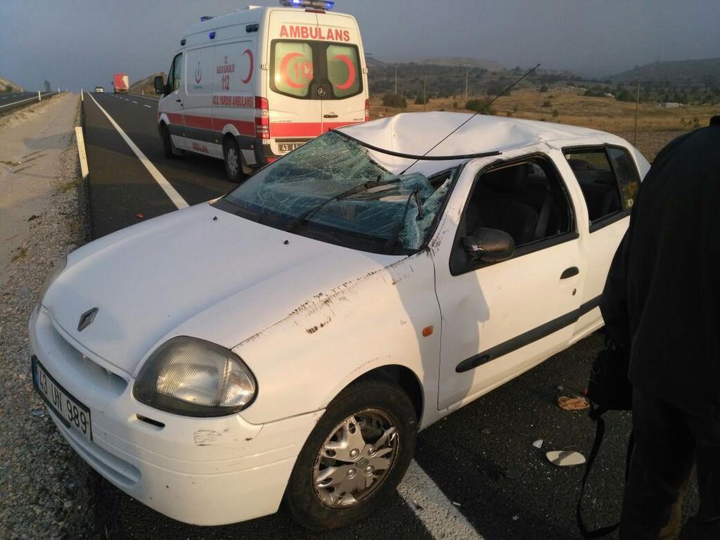 Kütahya'da feci kaza: 3 ölü