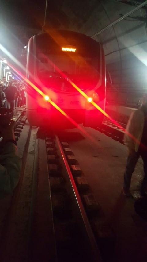 Marmaray'da arıza nedeniyle seferler durdu