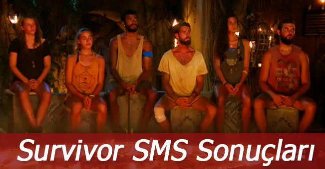 Survivor 17 Mayıs 2016 Halk SMS oylaması sonuçları belli oldu! Birinci kim oldu?