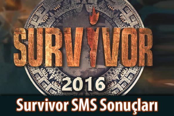 Survivor 24 Mayıs 2016 SMS oylaması sonuçları belli oldu! Peki Survivor'da kim elendi?