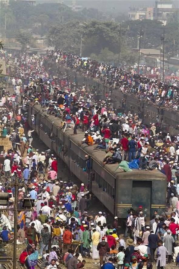 5 milyon insan geldi!