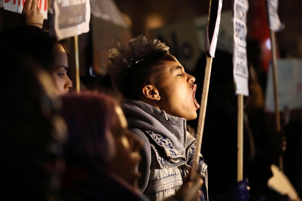 ABD'deki protestolara destek